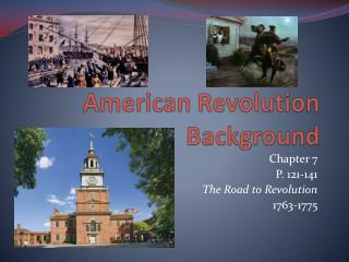 American Revolution Background