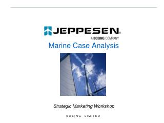Marine Case Analysis Strategic Marketing Workshop