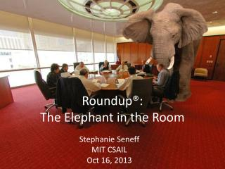 Roundup® :  The Elephant in the Room