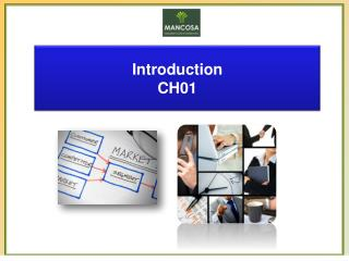 Introduction CH01