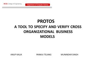 PROTOS  A TOOL TO SPECIFY AND VERIFY CROSS 	ORGANIZATIONAL  BUSINESS 			        MODELS