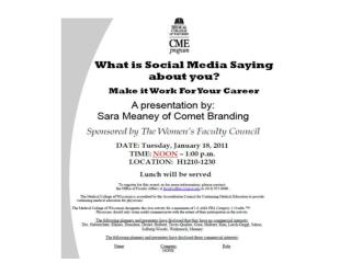 What is Social Media Saying About You?