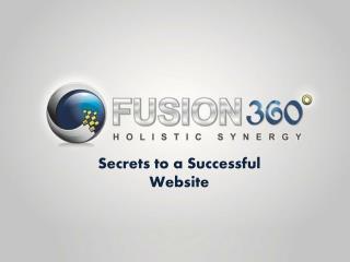 Secrets to a Successful Website