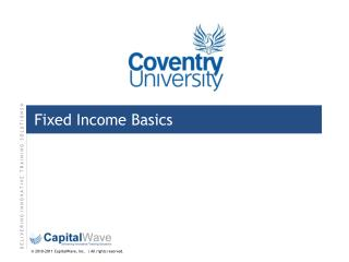 Fixed Income Basics