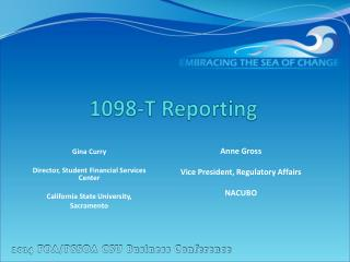 1098-T  Reporting
