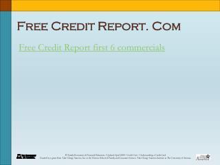 Free Credit Report. Com