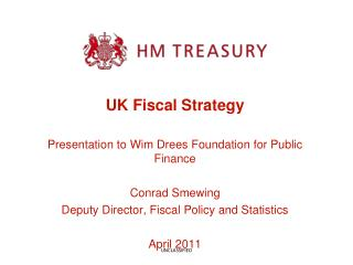 UK Fiscal Strategy