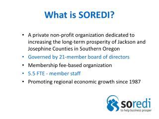 What is SOREDI?