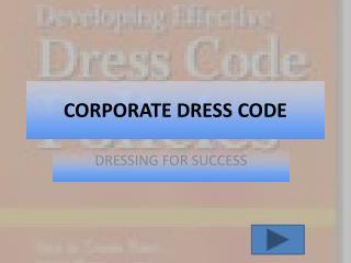 CORPORATE DRESS CODE