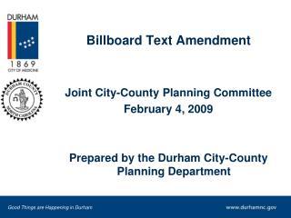 billboard text amendment