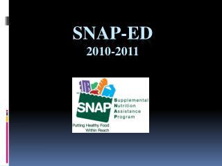 SNAP-Ed 2010-2011