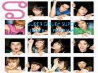 Super Girl by Super Junior M