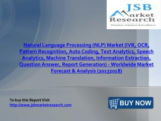 JSB Market Research:Natural Language Processing (NLP) Market