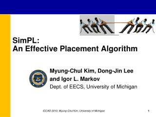 SimPL :  An Effective Placement Algorithm