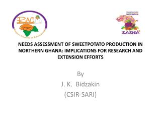 Needs assessment of sweetpotato production in northern Ghana: implications for research and extension efforts