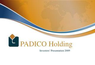 PADICO Holding