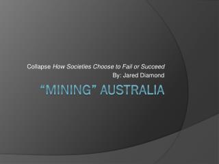 �Mining� Australia