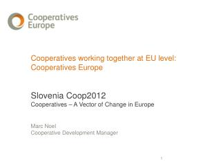Changing context: The crisis affected all enterprises; nevertheless, we can speak about a cooperative resilience ILO st