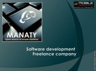 Software development  Freelance company