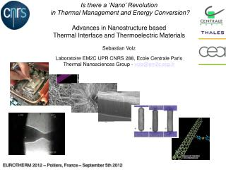 Is there a ' Nano ' Revolution  in Thermal Management and Energy Conversion? Advances in Nanostructure based Thermal In