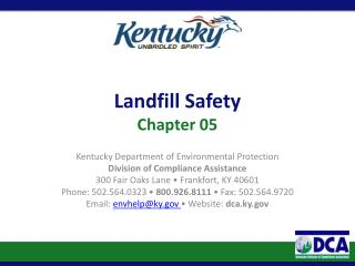 Landfill Safety Chapter 05