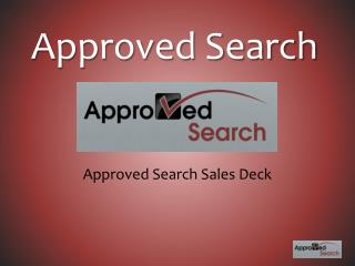 Approved Search
