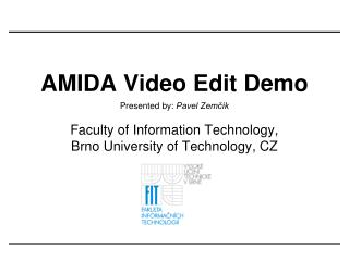 Video Editing demonstration