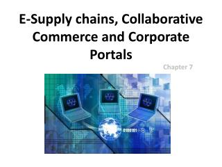 E-Supply chains, Collaborative Commerce and Corporate Portals