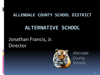 Allendale county school district Alternative school