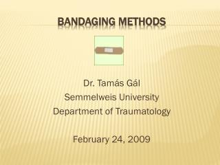 Bandaging methods