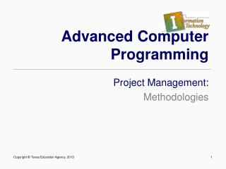 Advanced Computer Programming