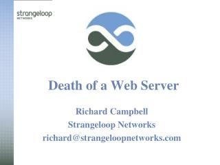 Death of a Web Server