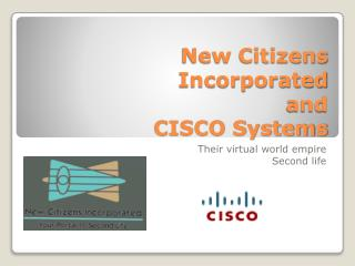 New  Citizens Incorporated  and CISCO Systems