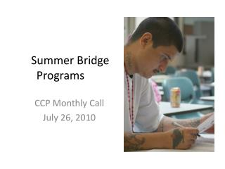 Summer Bridge Programs