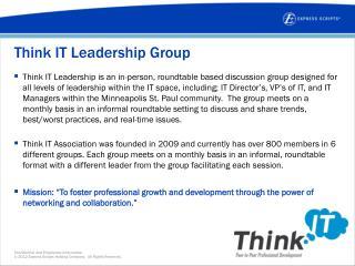 Think IT Leadership Group