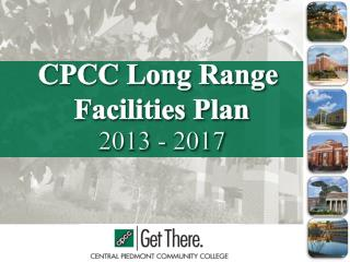 CPCC Long Range  Facilities Plan