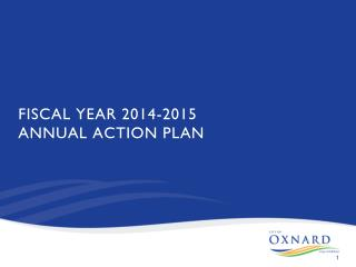 FISCAL YEAR 2014-2015 ANNUAL ACTION PLAN