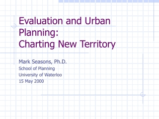 monitoring and evaluation part i