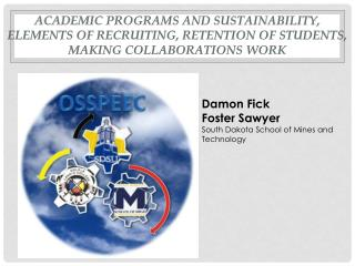 Academic Programs and Sustainability, elements of recruiting, Retention of students, Making Collaborations Work