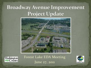 Broadway Avenue Improvement Project Update