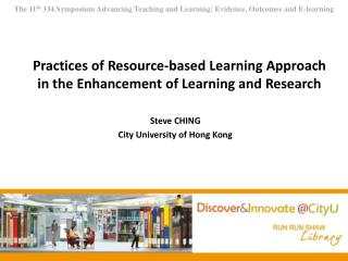 Practices of Resource-based Learning Approach in the Enhancement of Learning and Research