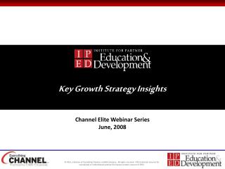 Key Growth Strategy Insights