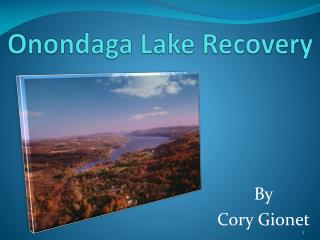 Onondaga Lake Recovery