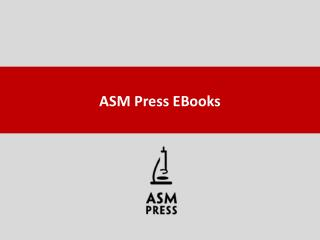ASM Press EBooks