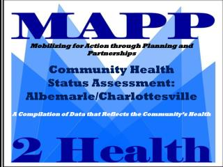 Community Health  Status Assessment: Albemarle/Charlottesville