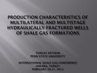 SHALE GAS RESERVOIRS AND CLASSICAL DILEMMA OF EARTH SCIENTISTS AND PETROLEUM ENGINEERS