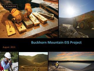 Buckhorn Mountain EIS Project
