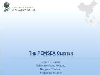 The PEMSEA Cluster