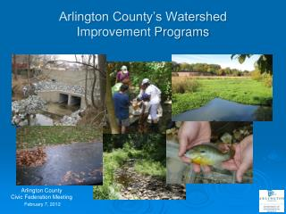 Arlington County's Watershed Improvement Programs