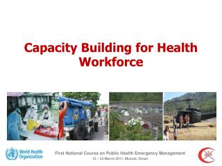 Capacity Building for Health Workforce